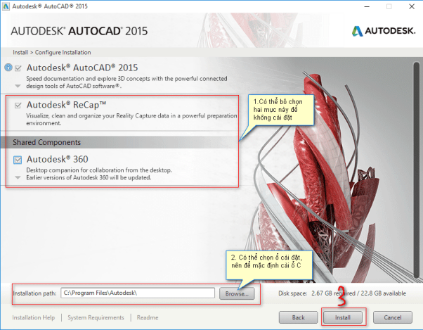 download autocad 2015 full